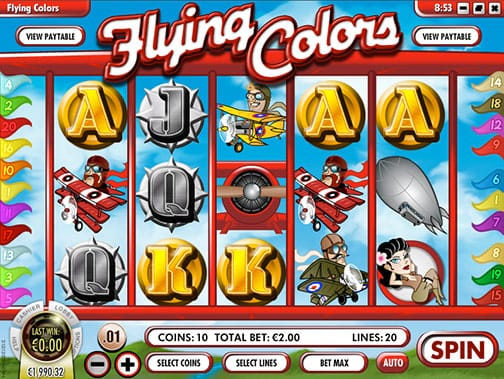 Spiele Flying Colors - Video Slots Online