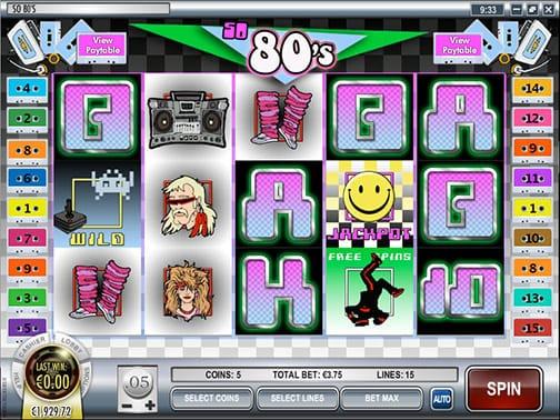 So 80's slot